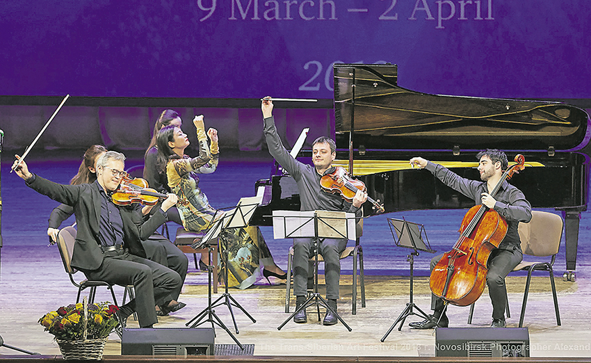 Три инструмента Антонио Страдивари прозвучали во Дворце культуры Бердска