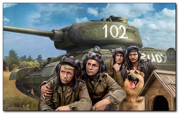 «Четыре танкиста и собака»: в кино и на войне